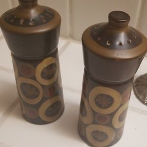 Vintage Other - Two sets of S&P Shakers... one metal, one England